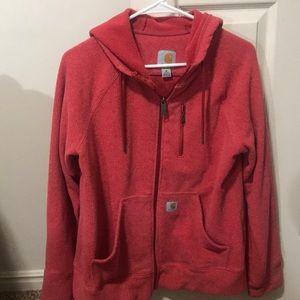 Carhartt Tops - Carhartt hooded jacket